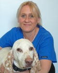 Kate Willett, receptionist at All Creatures Veterinary Centre
