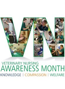 Veterinary Nursing Awareness Month logo